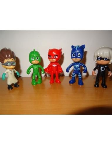 Set cinci figurine Eroii in pijama