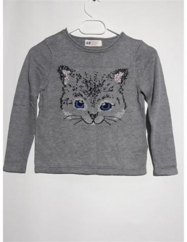 Pulover pentru primavara cu pisicuta H&M