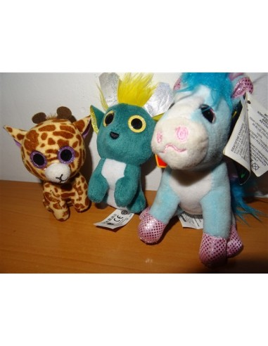 Set trei animalute din plus pentru copii