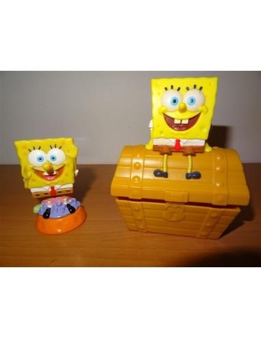 Set doua figurine Spongebob Mc Donalds
