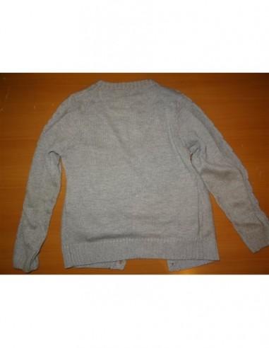 Pulover tricotat cu nasturei pentru...
