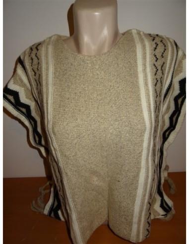 Poncho tricotat pentru fetite Zara Girls