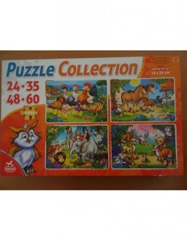 Puzzle 4 in 1  Collection Basme Deico