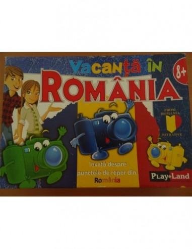 Joc educativ Vacanta in Romania