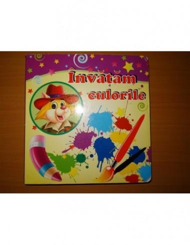 Carte pentru copii Invatam culorile