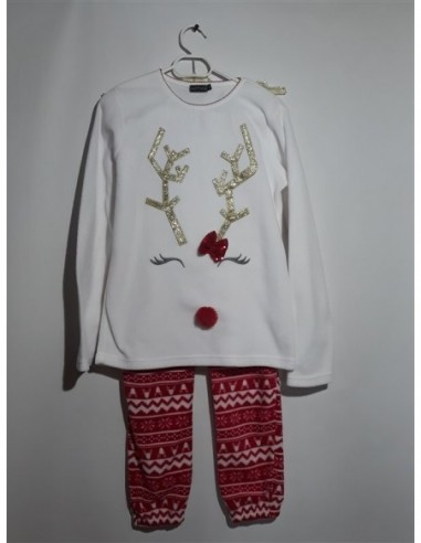 Pijama pentru fetite cu imprimeu...