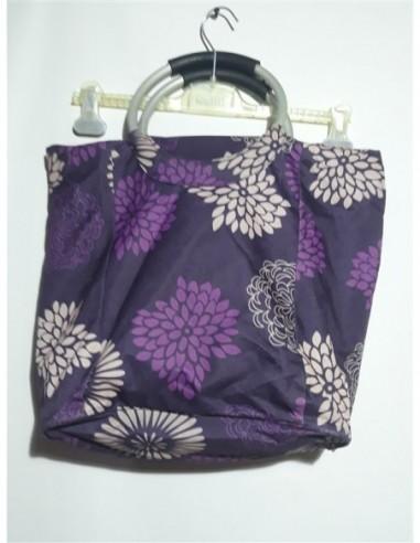 Geanta dama din material textil mov...