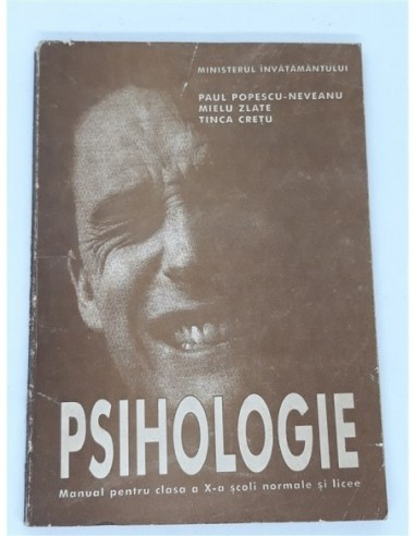 Psihologie Manual pentru clasa a X-a...