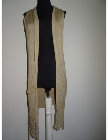 Cardigan dama tricotat fara maneci TinaR