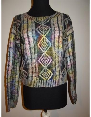 Pulover dama tricotat Loveriche