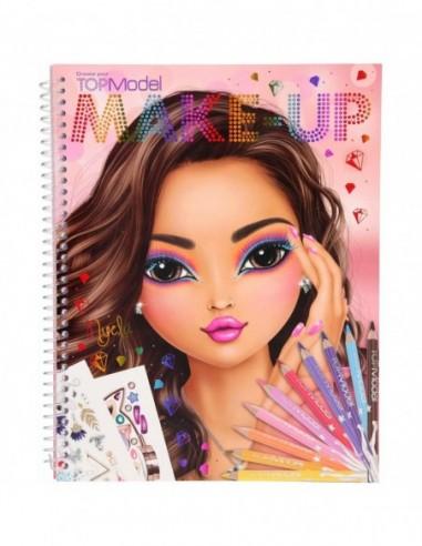 Carte de colorat Create Your Make-Up...