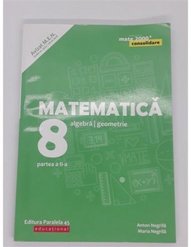 Matematica Algebra, geometrie. Clasa...