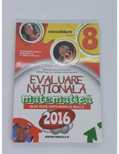 MATEMATICA Evaluare Nationala 2016...