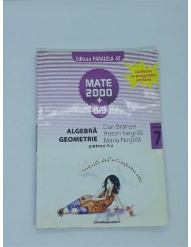 Algebra Geometrie clasa 7 partea 2