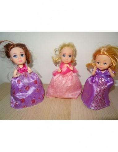 Set 3 papusele briose pentru fetite