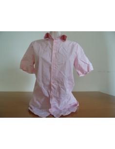 Camasa roz cu maneca scurta RodiMood