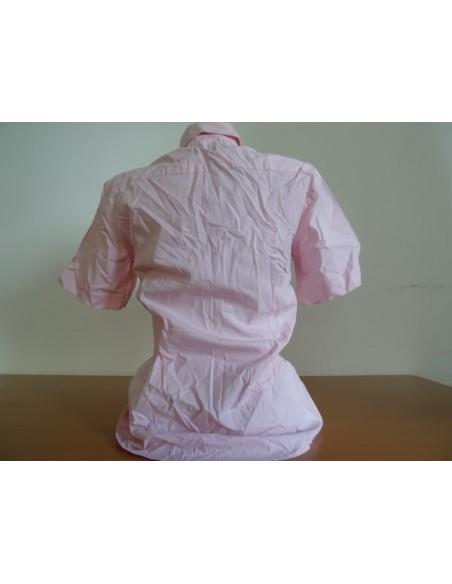 Camasa roz cu maneca scurta
