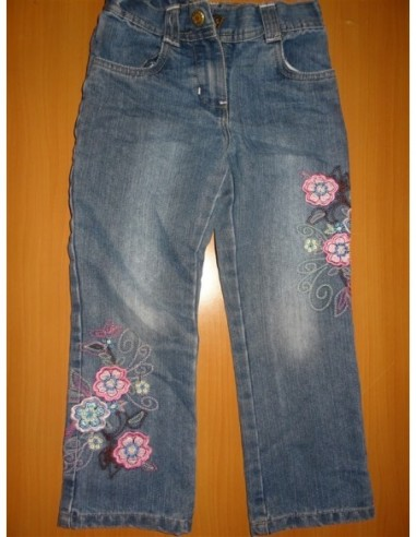 Pantalon blug fetita imprimeu floral...