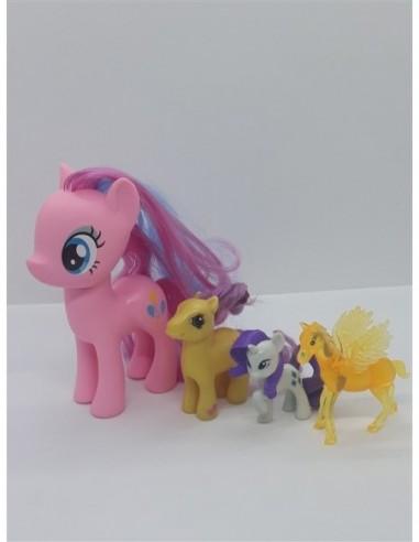 Set 4 figurine ponei colorati pentru...