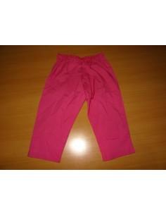 Pantaloni lejeri roz ciclam fetite