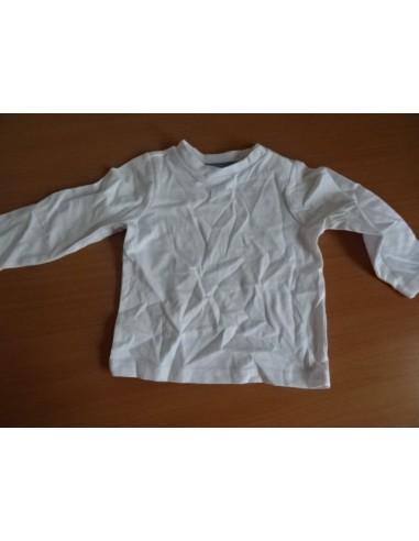 Bluza alba simpla baby club C&A