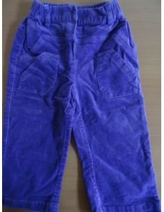 Pantaloni mov fetite