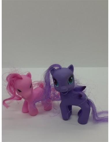 Set 2 figurine pentru fetite Ponei