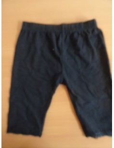 Pantaloni negri cu dantela