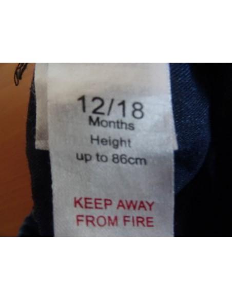 Jeans imprimeu TAZ