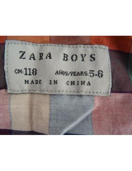 Camasa multicolora ZARA BOYS