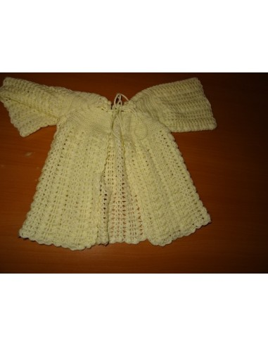 Bolero crem tricotat