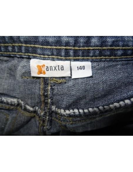 Jeans trei sferturi cu buzunare