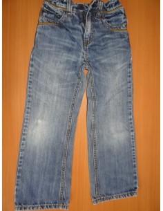 Jeans cu buzunare la spate