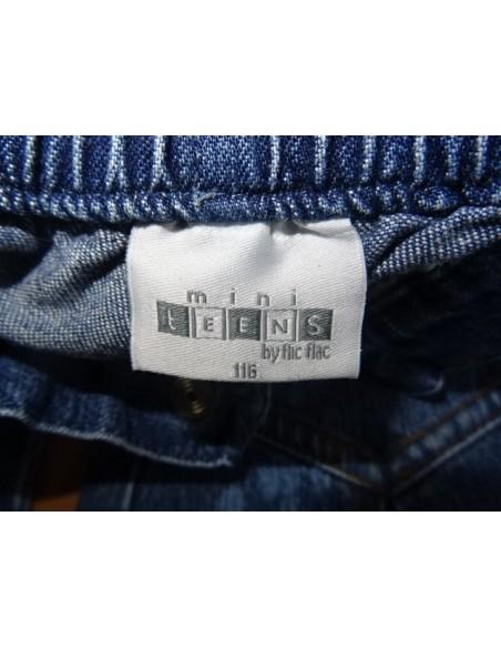 Jeans MINI TEENS cu franjuri
