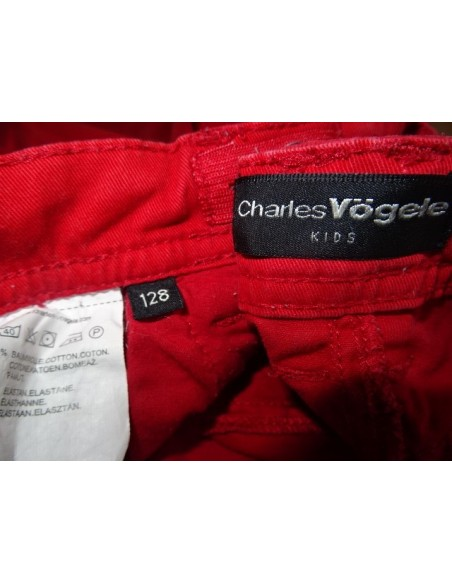 Pantaloni rosi CHARLES VOGELE