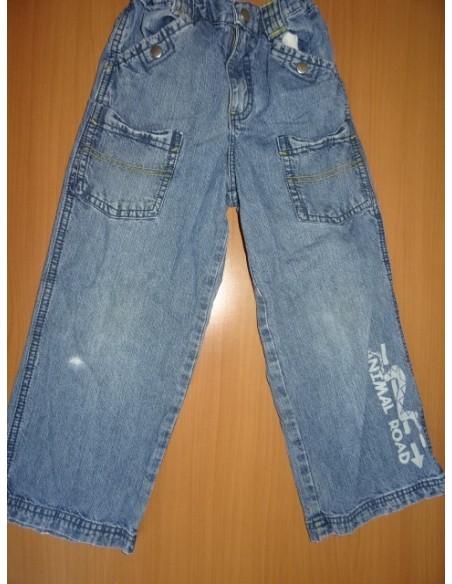 Jeans animal road baietei