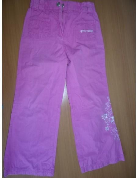 Pantaloni sprt cu floricele