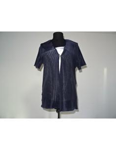 Bluza albastra cu maieu alb Dorothy Perkins