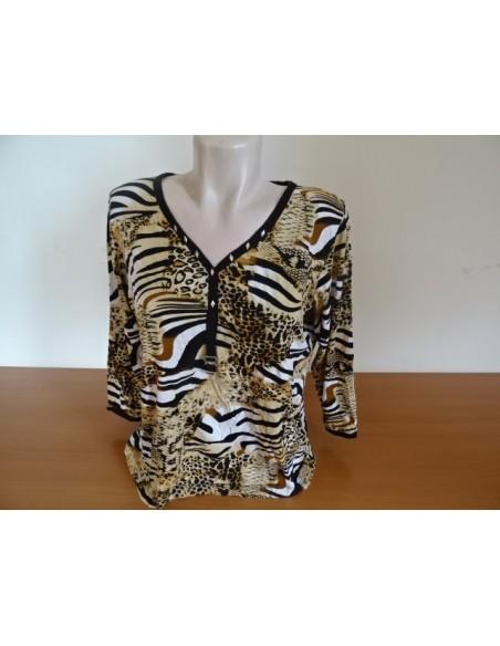 Bluza tigrata dama