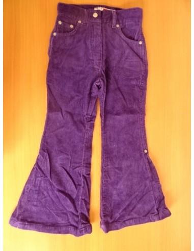 Pantaloni raiati fetite