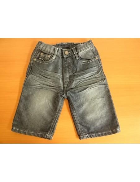 Jeans gri scurti