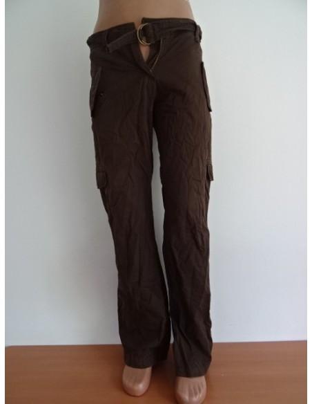 Pantalon dama maro cu buzunare laterale C&A