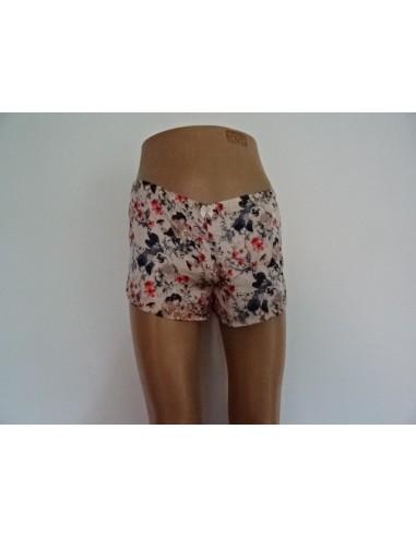 Pantaloni scurti inflorati H&M