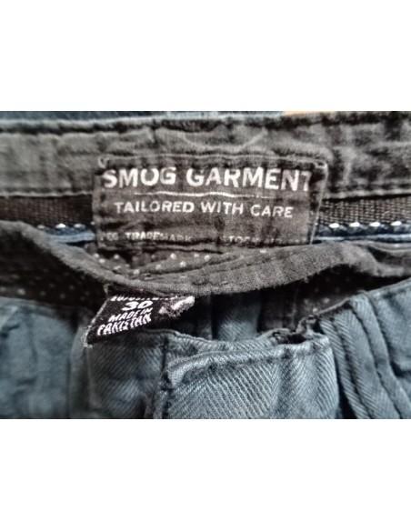 Pantaloni negri lungi Smog Garment