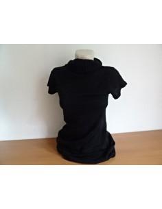 Tricou negru dama simplu