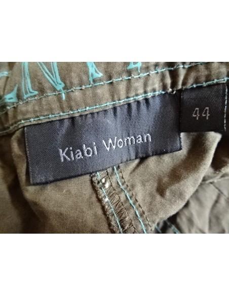 Pantaloni maro Kiabi Woman
