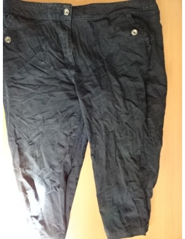 Pantaloni negri trei sferturi dama