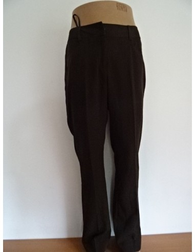 Pantaloni negri de stofa Modeszne