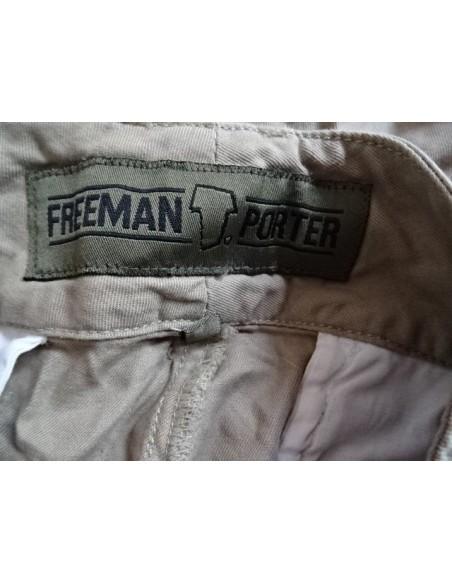 Pantaloni dama Freeman bej