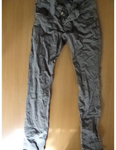 Pantaloni gri dama simpli